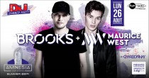 DJ Mag Party avec Brooks & Maurice West